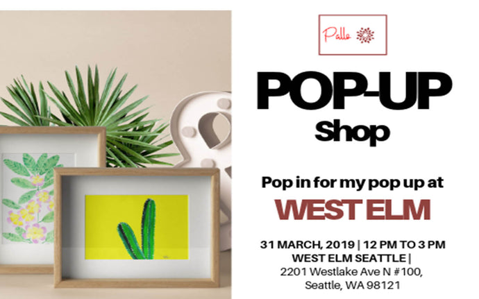 Pop Up Shop At West Elm | Seattle