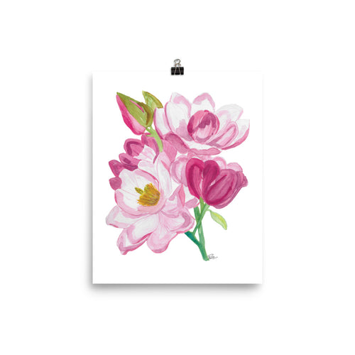 Magnolia Bunch - Art Print