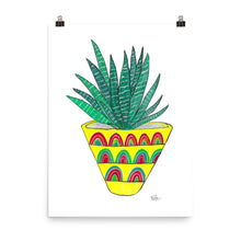 Load image into Gallery viewer, Zebra Plant - Art Print