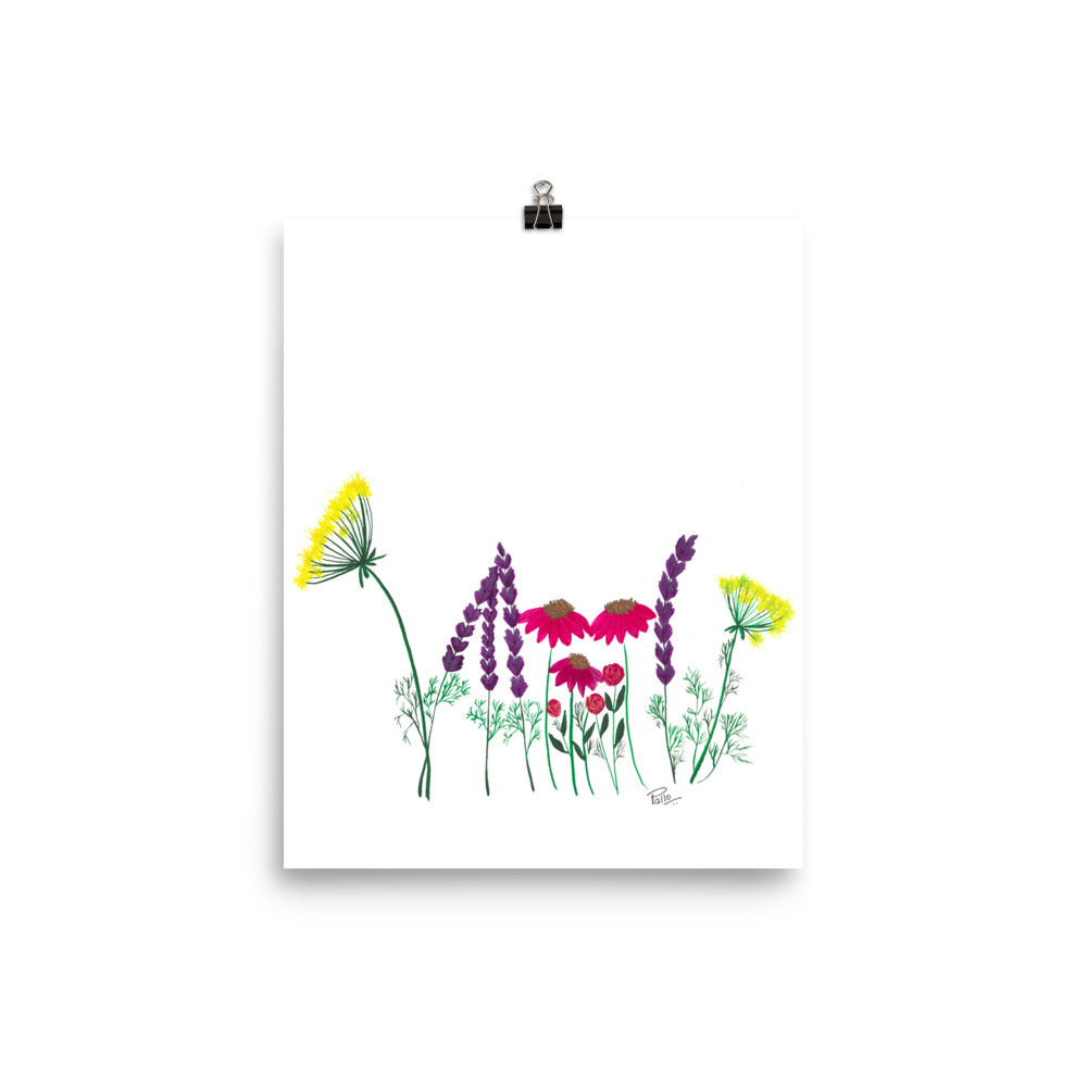 Wildflowers - Art Print