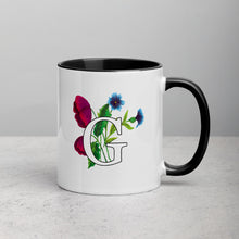 Load image into Gallery viewer, Letter G Floral Mug