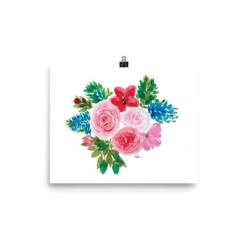 Flower Bouquet - Art Print