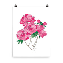 Load image into Gallery viewer, Peony Flower - Art Print