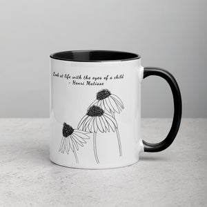 Look at life with the eyes of a child - Matisse - Mug
