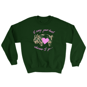 CARRY YOUR HEART FOREST GREEN