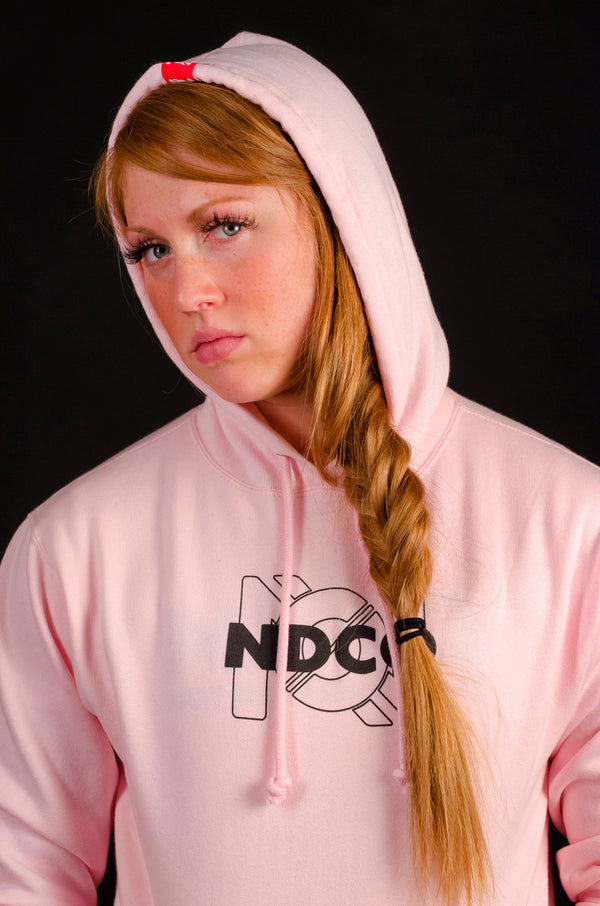 The Original Ambigram Pink Hoodie