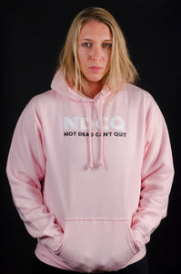 The Original Be Tough Pink Hoodie