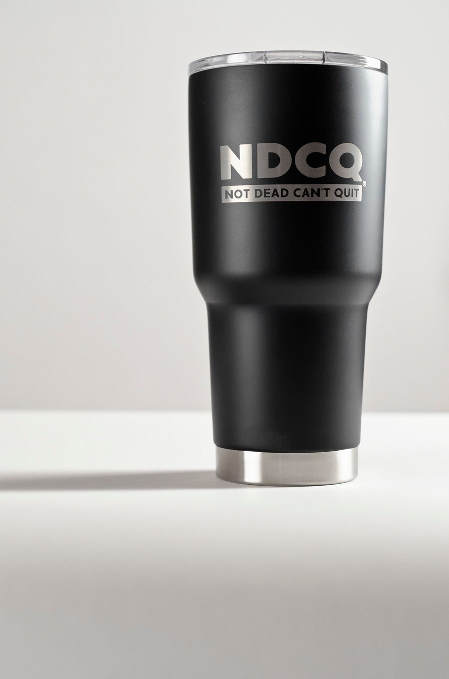 NDCQ Black Travel Tumbler