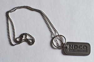 NDCQ Engravable Dog Chain/Key Chain