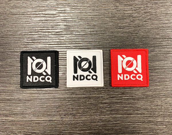 NDCQ Ambigram Patch