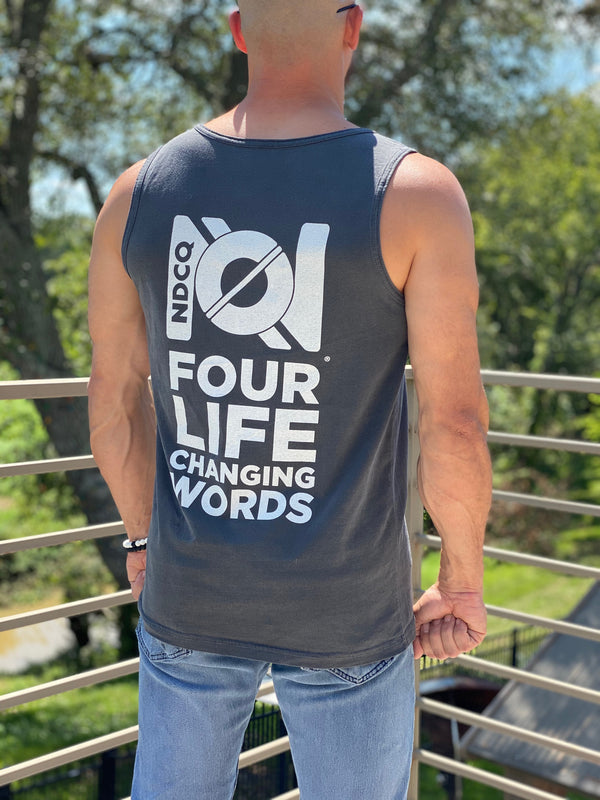 MEN'S TANK - 4 LIFE CHANGING WORDS