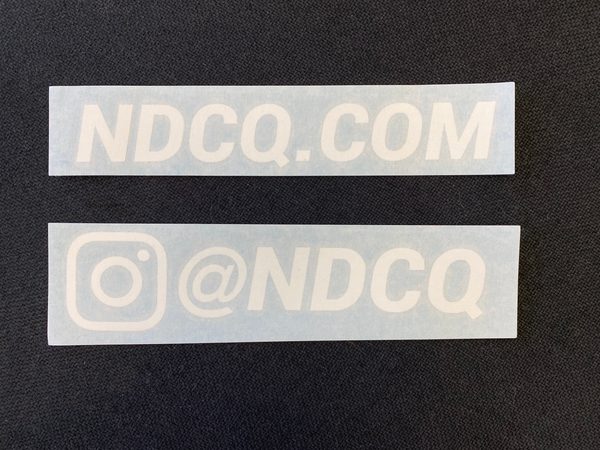 NDCQ Car Decal