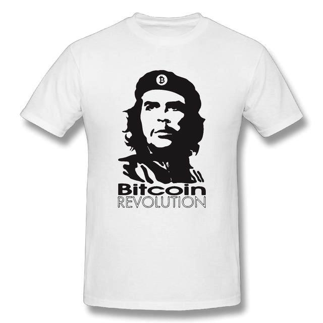 'Bitcoin Revolution!' T-Shirt (Various Colors)-Coindrobe