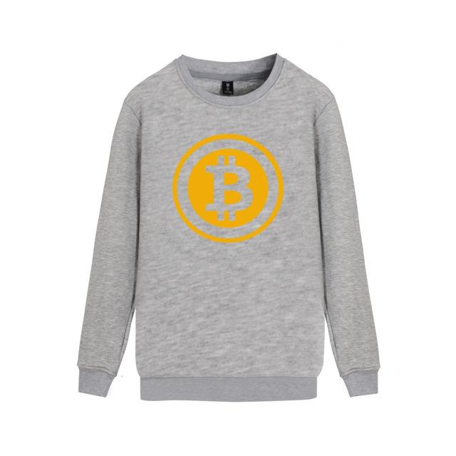 Bitcoin Sweatshirt (Various Colors)-Coindrobe