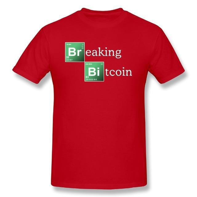 'Breaking Bitcoin' T-Shirt *Blue Sky NOT Included* (Various Colors)-Coindrobe
