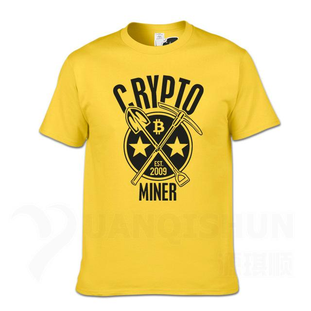 'Crypto Miner' T-Shirt (Various Colors)-Coindrobe