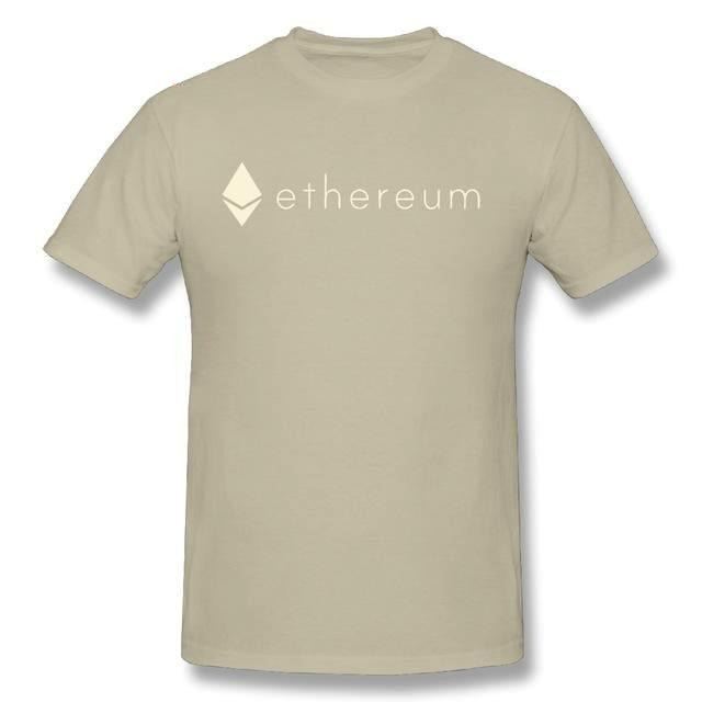 Ethereum Logo T-Shirt (Various Colors)-Coindrobe