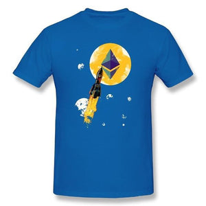 'Ethereum To The Moon!' (It'll Be Back Soon) T-Shirt (Various Colors)-Coindrobe