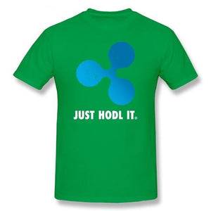 'Just HODL It' Ripple (XRP) T-Shirt (Various Colors)-Coindrobe