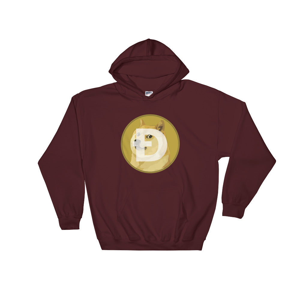 Dogecoin (DOGE) Hoodie (Various Colors)
