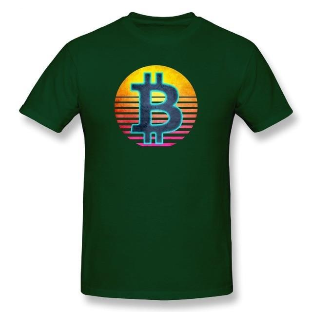 'Bitcoin Sunset' T-Shirt (Various Colors)