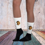 Bitcoin Big Logo Socks (Unisex)