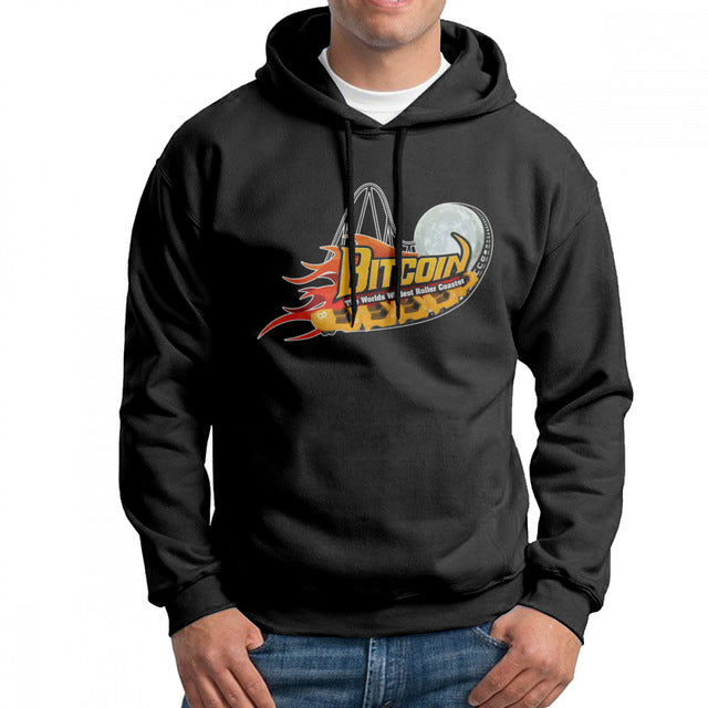 'Bitcoin Rollercoaster' Hoodie (Various Colors)