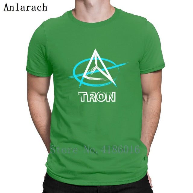 Tron Trx Anarchy T Shirt Fashion Fit Family Standard Funny T Shirts Round Neck Designer Clothing Summer