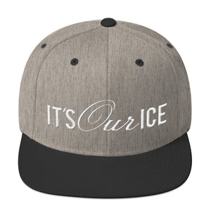 It's Our Ice Logo Snapback Hat