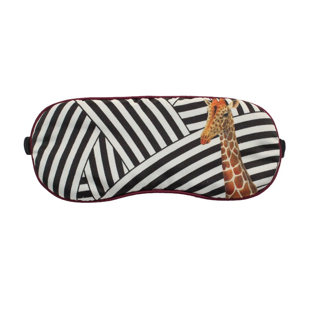 Yvonne Ellen Giraffe Stripe Eye Mask