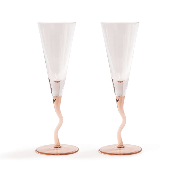 Klevering Curly Champagne Flute