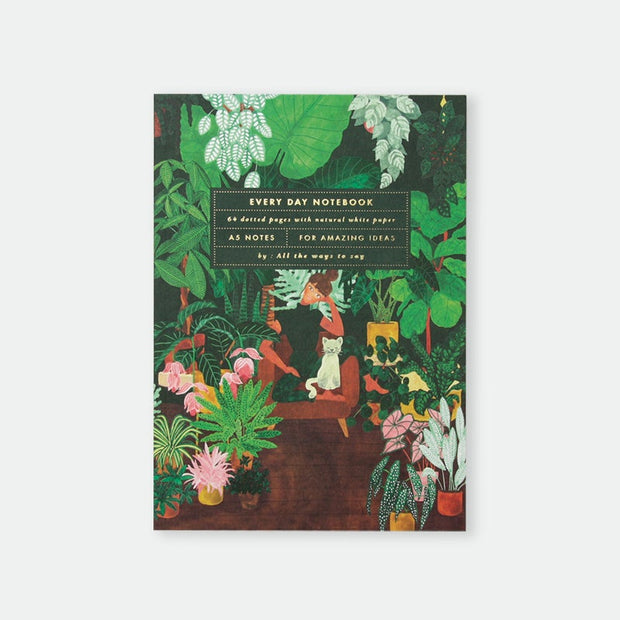 All the ways to say Plant Addict Lady Notebook