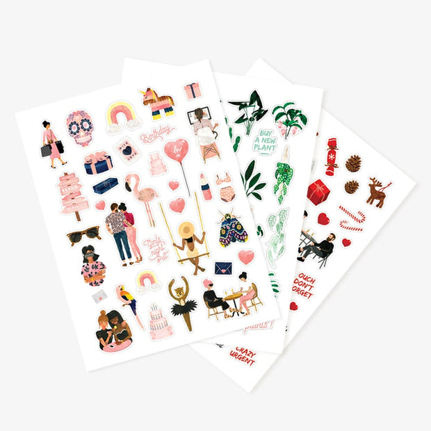 All The Ways Stickers - Set of 3