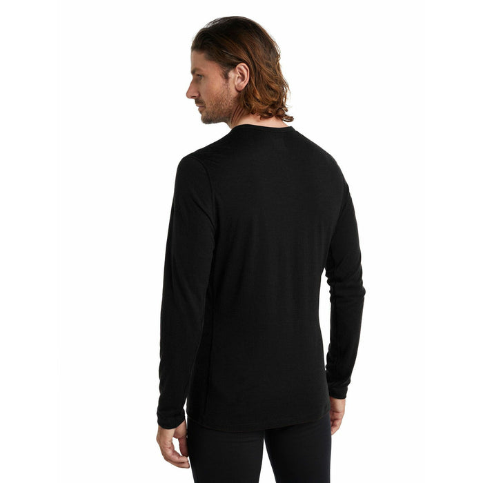icebreaker Men's Merino 200 Oasis Long Sleeve Crewe Thermal Top