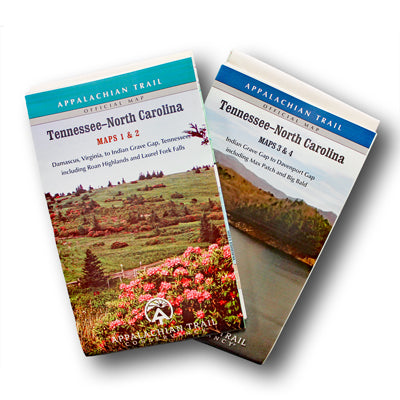 Appalachian Trail Maps Tennessee-North Carolina