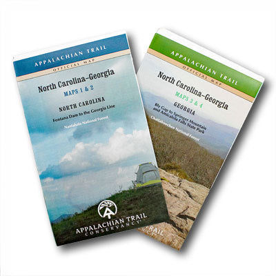 Appalachian Trail Maps North Carolina-Georgia