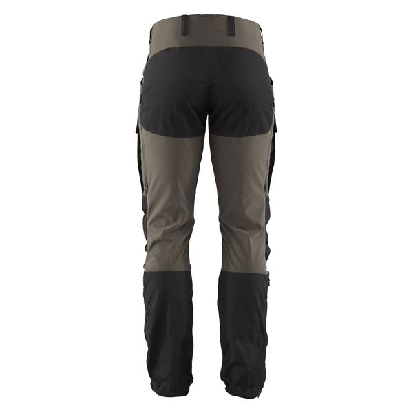 fjallraven keb trousers black stone grey
