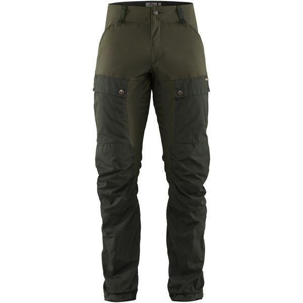 keb trousers fjallraven deep forest laurel green