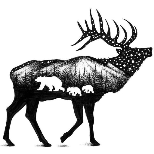 The Elk Sticker