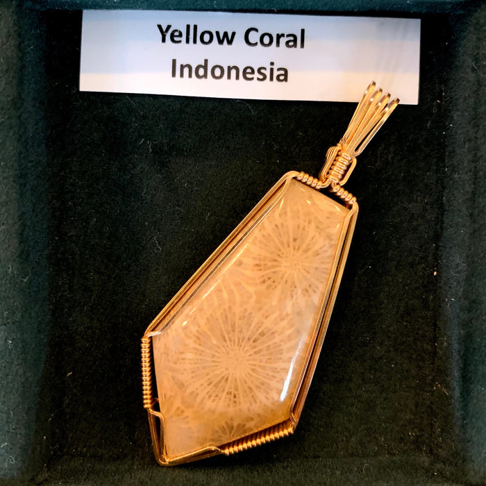Pendant: Yellow Coral