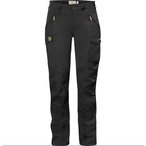 FjallRaven Women's Nikka Curved Trousers Black