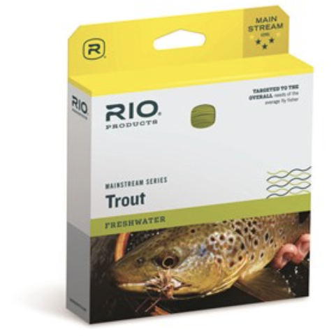 Rio Mainstream Series Trout, Lemon Green 80ft