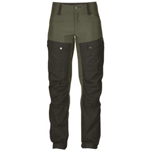 FjallRaven Women's Keb Trousers Deep Forest-Laurel Green