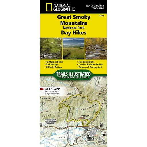 National Geographic Great Smoky Mountains National Park Day Hikes