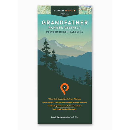 Pisgah Map Co. Grandfather Ranger District