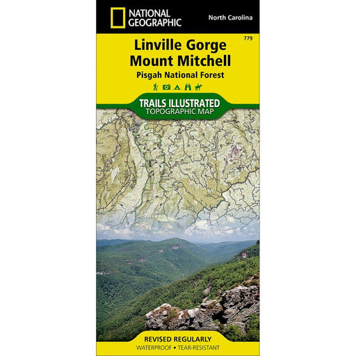 National Geographic Maps - Linville Gorge Mount Mitchell