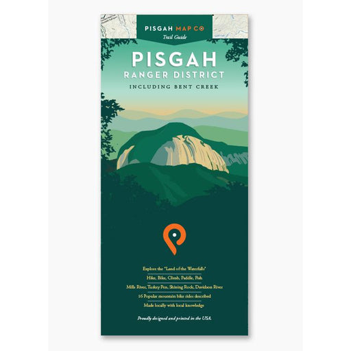 Pisgah Map Co. Pisgah Ranger District, Including Bent Creek