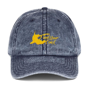 Find-Your-Coast Hammerhead Vintage Unstructured Baseball Cap
