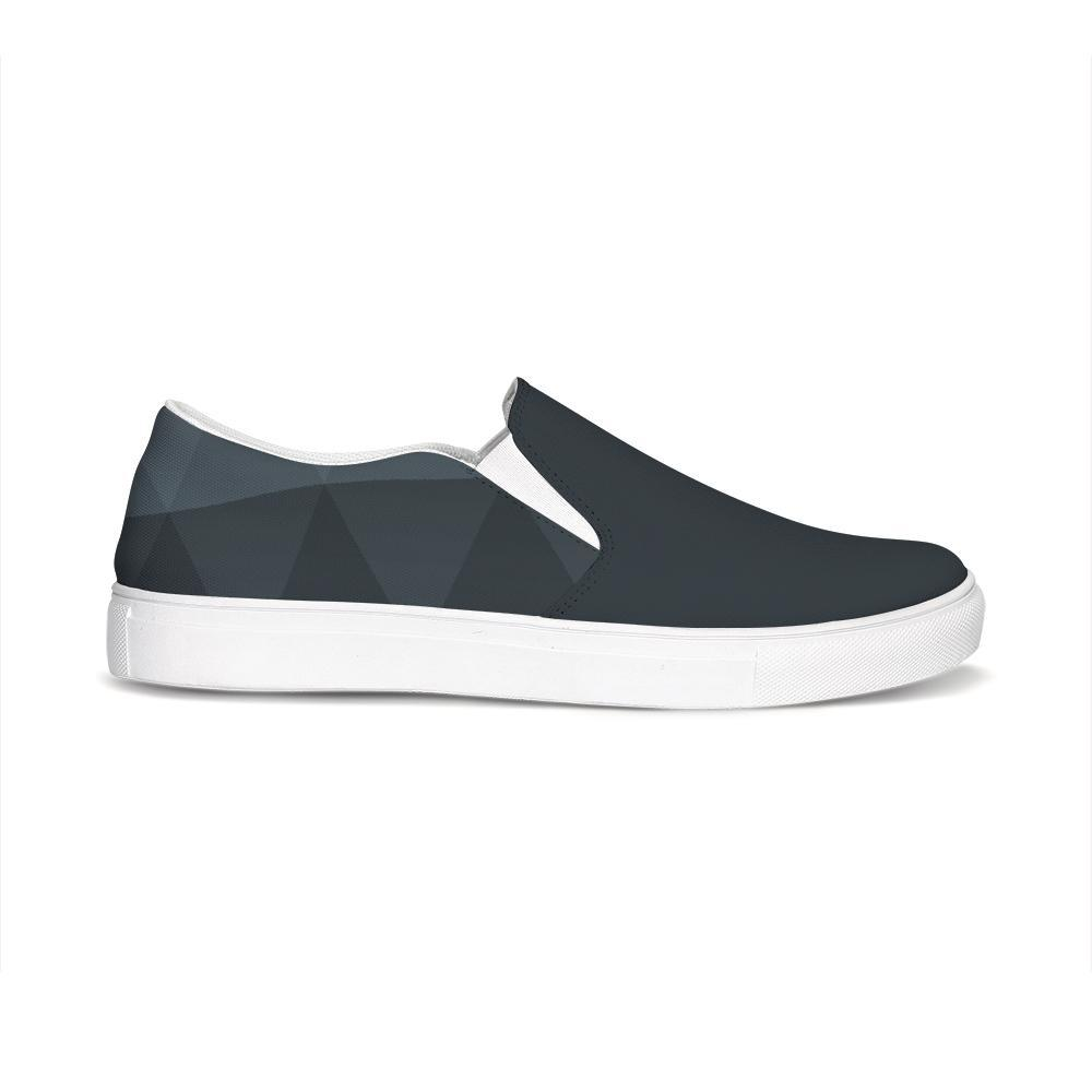 Find-Your-Coast Women's Venturer Gray Casual Canvas Slip-On Shoes