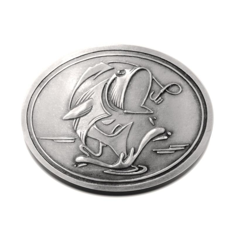 GONE FISHIN Belt Buckle